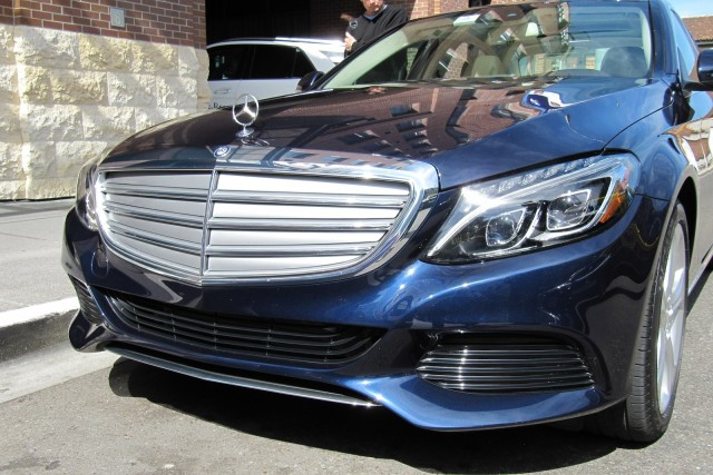 2016 Mercedes-Benz C 350e plug-in hybrid, San Francisco, March 2015