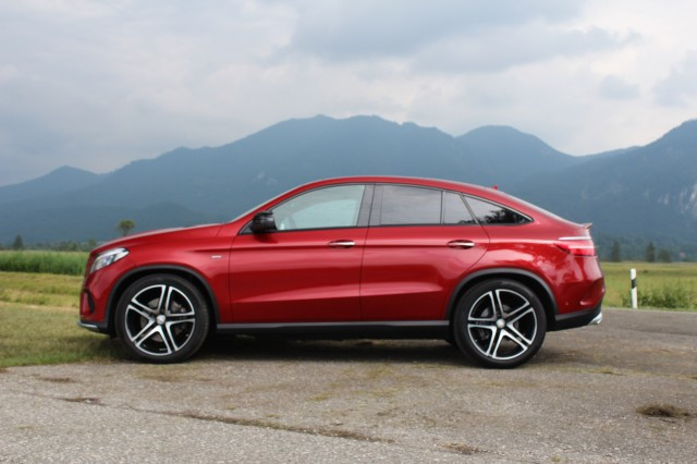 2016 Mercedes-Benz GLE450 AMG 4Matic Coupe  -  First Drive