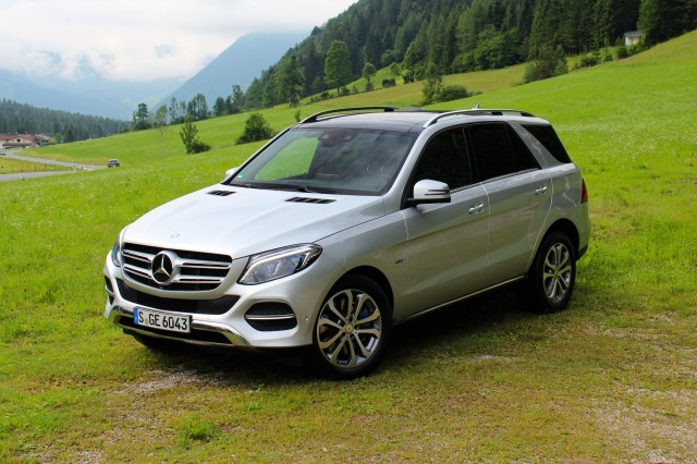 2016 Mercedes-Benz GLE550e Plug-In Hybrid