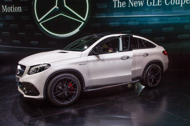 2016 Mercedes-AMG GLE63 S Coupe 4Matic live photos, 2015 Detroit Auto Show