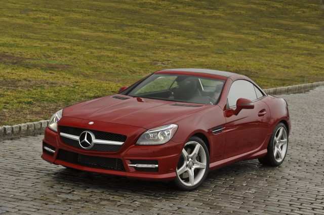 New and used mercedes benz slk class prices photos for Mercedes benz two seater
