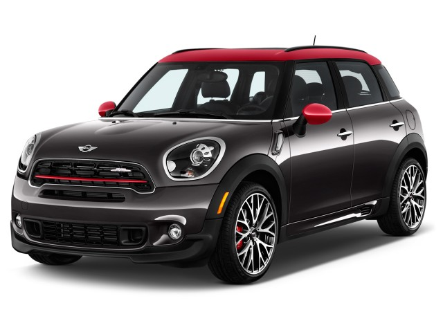 2016 Mini Cooper Countryman All4 4 Door John Works Angular Front Exterior View Reviews Specs Photos Inventory