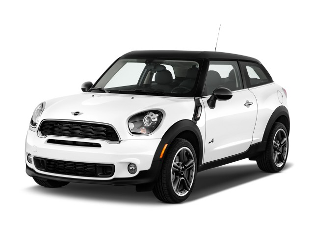 2016 Mini Cooper Paceman Fwd 2 Door S Angular Front Exterior View
