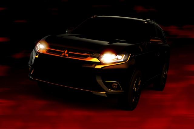 2016 Mitsubishi Outlander front teaser