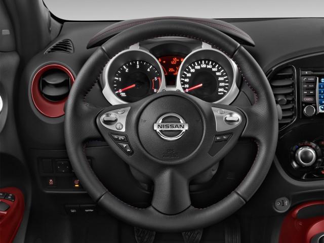 2016 Nissan Juke 5dr Wagon CVT S FWD Steering Wheel