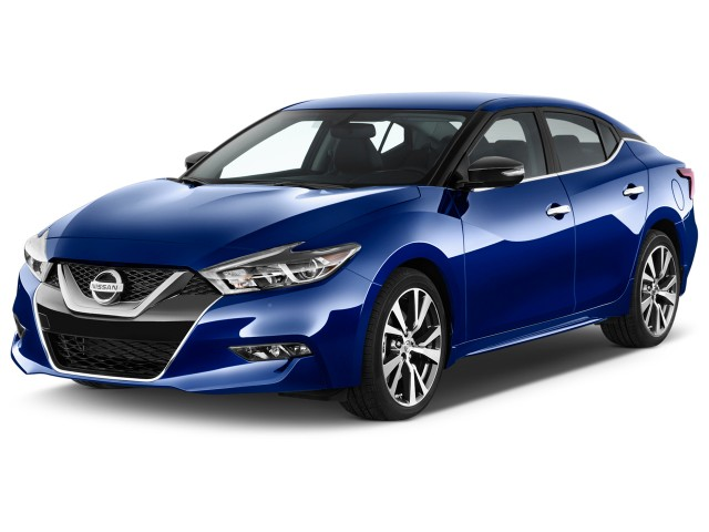 2016 Nissan Maxima 4-door Sedan 3.5 SV Angular Front Exterior View