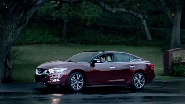 2016 Nissan Maxima in Nissan's Super Bowl XLIX spot 'With Dad'