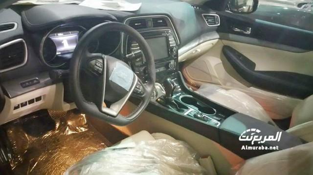 2016 Nissan Maxima leaked - Image via Almuraba