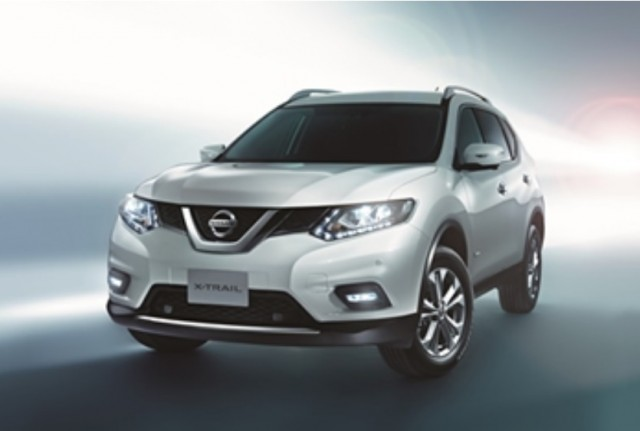 2016 Nissan X Trail Hybrid Model Sold In An
