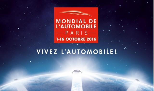 2016 Paris auto show logo