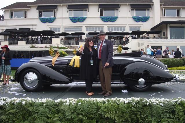 2016 Pebble Beach Concours d'Elegance Best in Show winner, 1936 Lancia Astura Pinin Farina Cabriolet