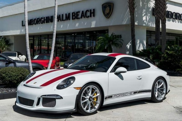 2016 porsche 911 r surfaces for sale in florida. Black Bedroom Furniture Sets. Home Design Ideas