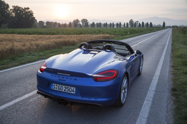 2016 Porsche Boxster Spyder Best Car To Huracán Road Trip Today S News