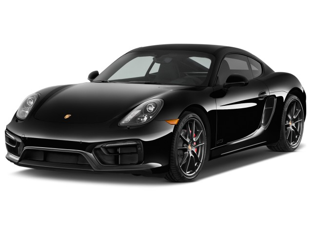 2016 Porsche Cayman 2-door Coupe GTS Angular Front Exterior View