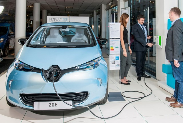 2016 Renault Zoe electric car