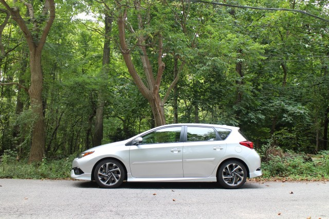 2016 Scion iM drive event, Philadelphia area, Sept 2015