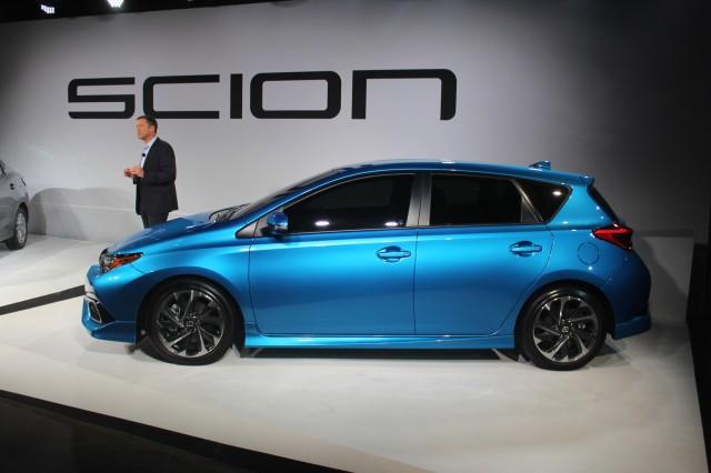 2016 Scion iM - live photos, 2015 NY Auto Show