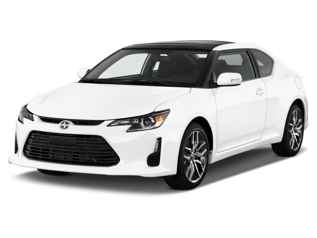2016 Scion tC 2-door HB Auto (Natl) Angular Front Exterior View