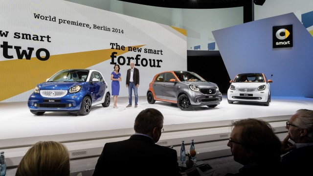 2016 Smart Fortwo And Forfour European Models Global Launch Berlin