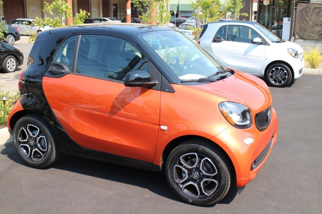 2016 Smart ForTwo minicar, Portland, Oregon, Aug 2015