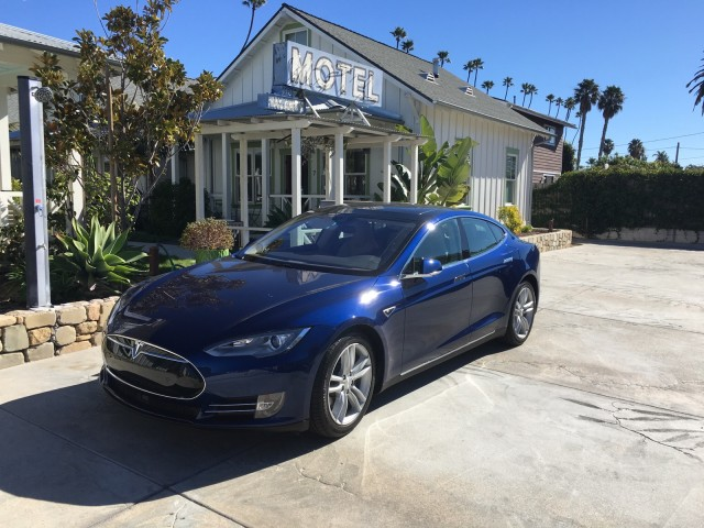 2016 Tesla Model S 90d During Southern California Test Drive Photo David Noland