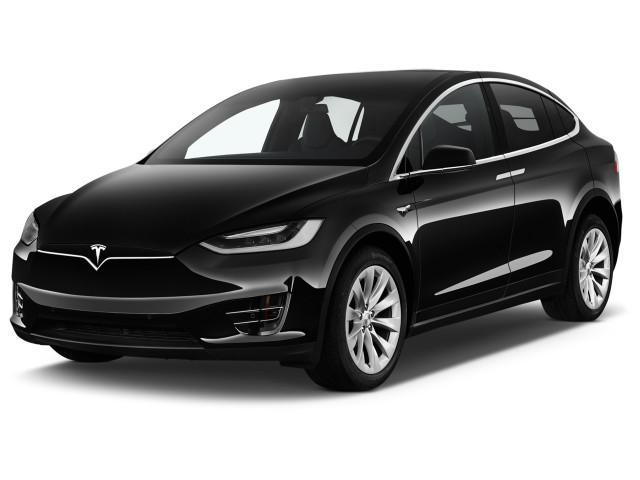 2016 Tesla Model X AWD 4-door 75D Angular Front Exterior View