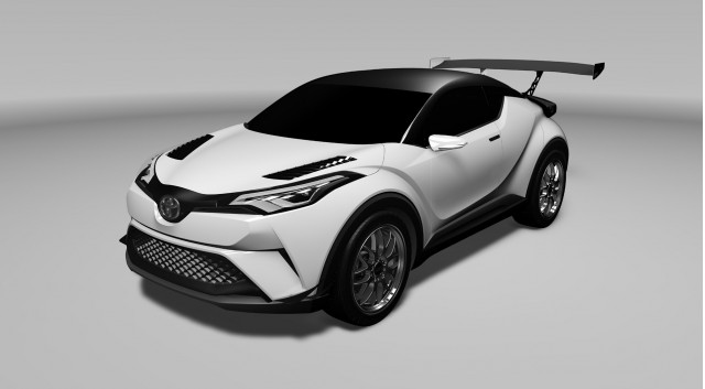 2016 Toyota C-HR race car