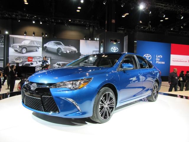 2016 Toyota Camry Special Edition, 2015 Chicago Auto Show