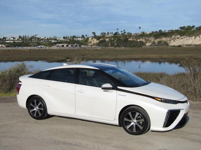2016 Toyota Mirai Hydrogen Fuel Cell Car Newport Beach Ca Nov 2017
