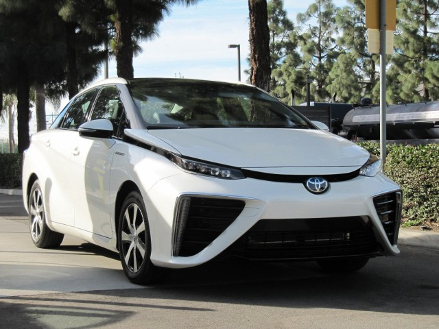 2016 Toyota Mirai Hydrogen Fuel Cell Car Newport Beach Ca Nov 2017