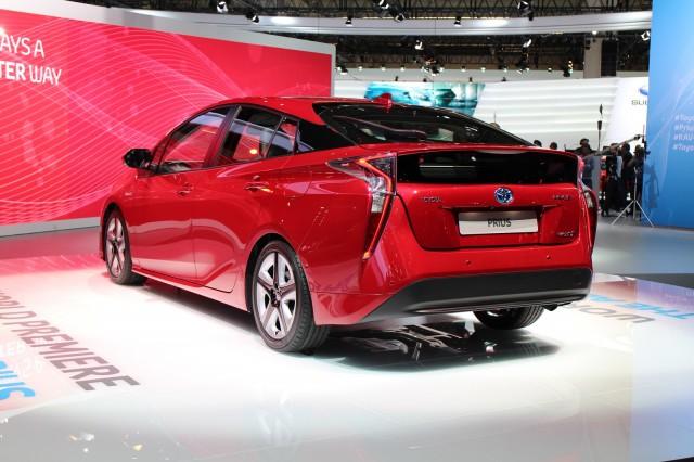 2016 Toyota Prius auto-show debut, 2015 Frankfurt Motor Show