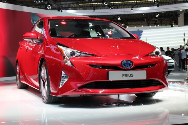 2016 Toyota Prius Auto Show Debut 2017 Frankfurt Motor