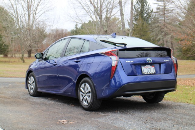 2016 Toyota Prius, Catskill Mountains, NY, Dec 2015