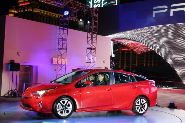 2016 Toyota Prius, global launch, Las Vegas, Sept 2016