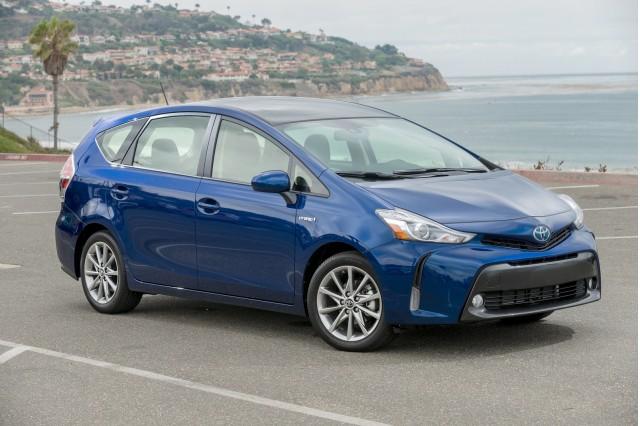 Is Toyota RAV4 Hybrid SUV hurting Prius V wagon sales?