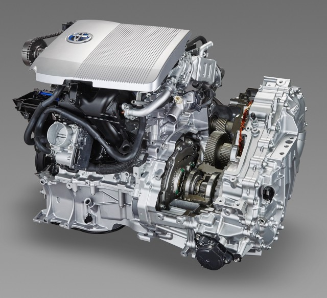 2016 Toyota Prius Transaxle Cutaway