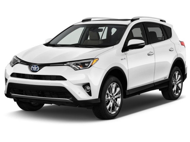 2016 Toyota RAV4 Hybrid AWD 4-door Limited (Natl) Angular Front Exterior View