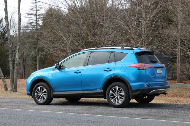 2016 Toyota Rav4 Hybrid Catskill Mountains Ny Feb