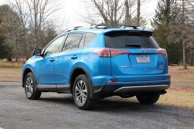2016 Toyota RAV4 Hybrid, Catskill Mountains, NY, Feb 2016