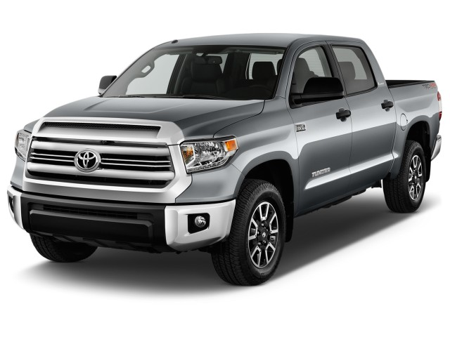 2016 Toyota Tundra Crewmax 5 7l V8 6 Spd At Trd Pro Natl