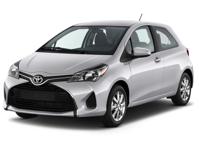 2016 Toyota Yaris 3dr Liftback Auto LE (Natl) Angular Front Exterior View