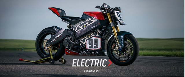 2016 Victory Empulse electric motorcycle