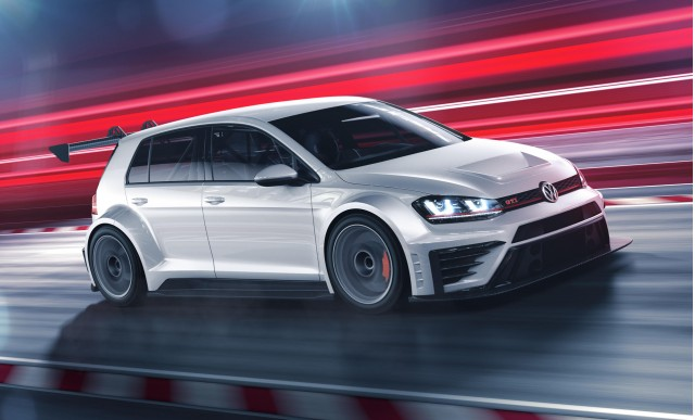 2016 Volkswagen GTI TCR race car