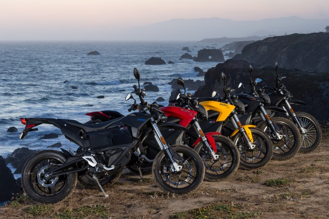 2016 Zero electric motorcycle range