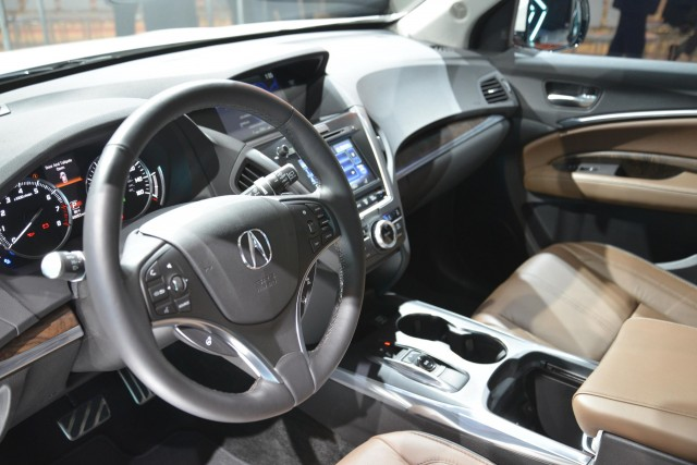 2017 Acura Mdx Debuts With New Look Nsx Derived Hybrid System Live