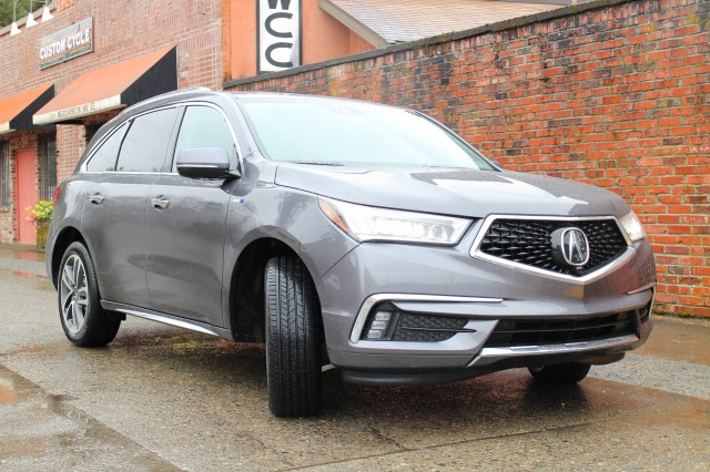 2017 Acura MDX Sport Hybrid SH-AWD, Seattle area, April 2017