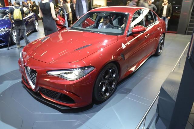 Alfa Romeo Giulia Quadrifoglio, 2015 Frankfurt Auto Show
