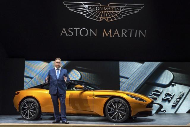 2017 Aston Martin DB11 Live Photos, 2016 Geneva Motor Show