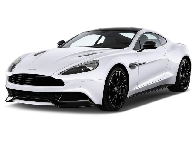 2017 Aston Martin Vanquish Coupe Angular Front Exterior View