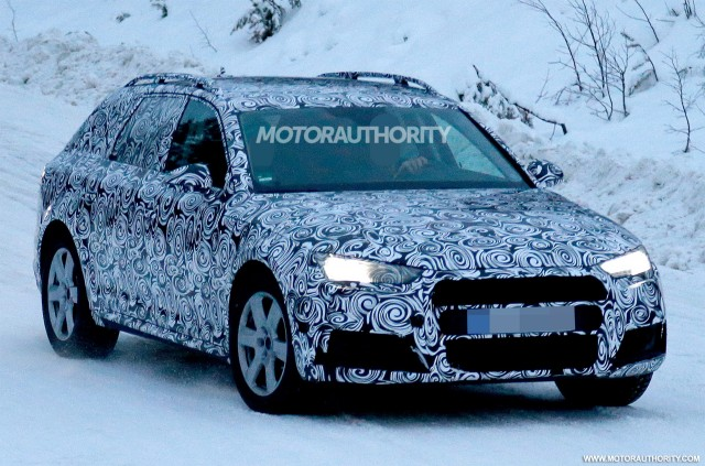 2017 Audi A4 Allroad Spy Shots